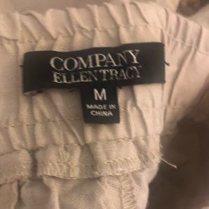 Ellen Tracy Shorts - Company Ellen Tracy 100% Linen Khaki Shorts